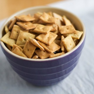 Nooch-Its (Gluten-Free Vegan Cheez-Its)