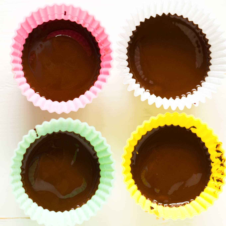 Vegan Peanut Butter Cups | https://eatwithinyourmeans.com