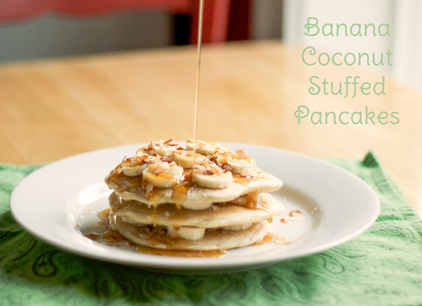 banana-coconut-stuffed-pancakes