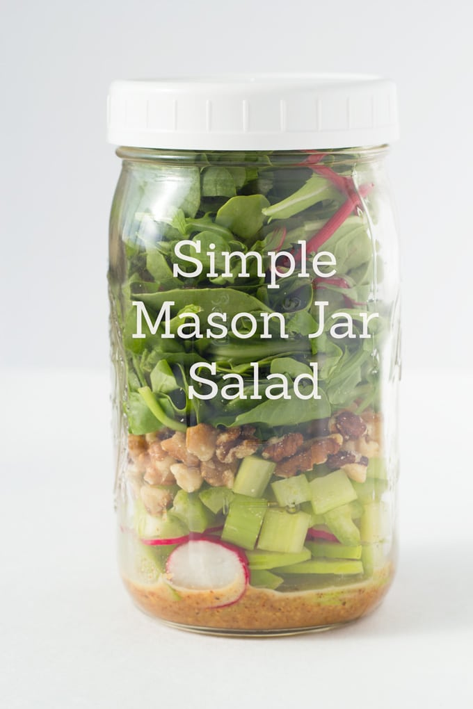 Mason Jar Salad Diagram a Simple Mason Jar Salad my