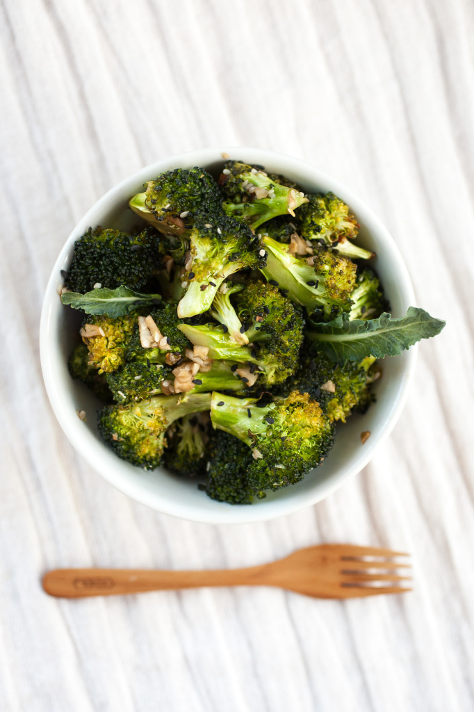 Sesame Roasted Broccoli | http://produceonparade.com