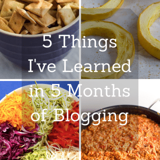 5 Things I've Learned in 5 Months of Blogging