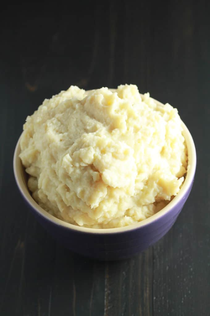Protein-Packed-Vegan-Mashed-Potatoes-and-Gravy | https://eatwithinyourmeans.com