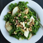 Simple Kale Salad | https://eatwithinyourmeans.com