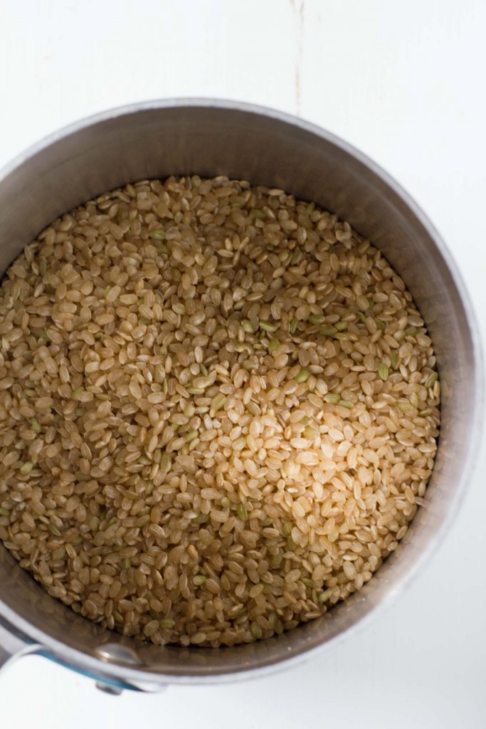 Cold Water Brown Rice Method   https://eatwithinyourmeans.com