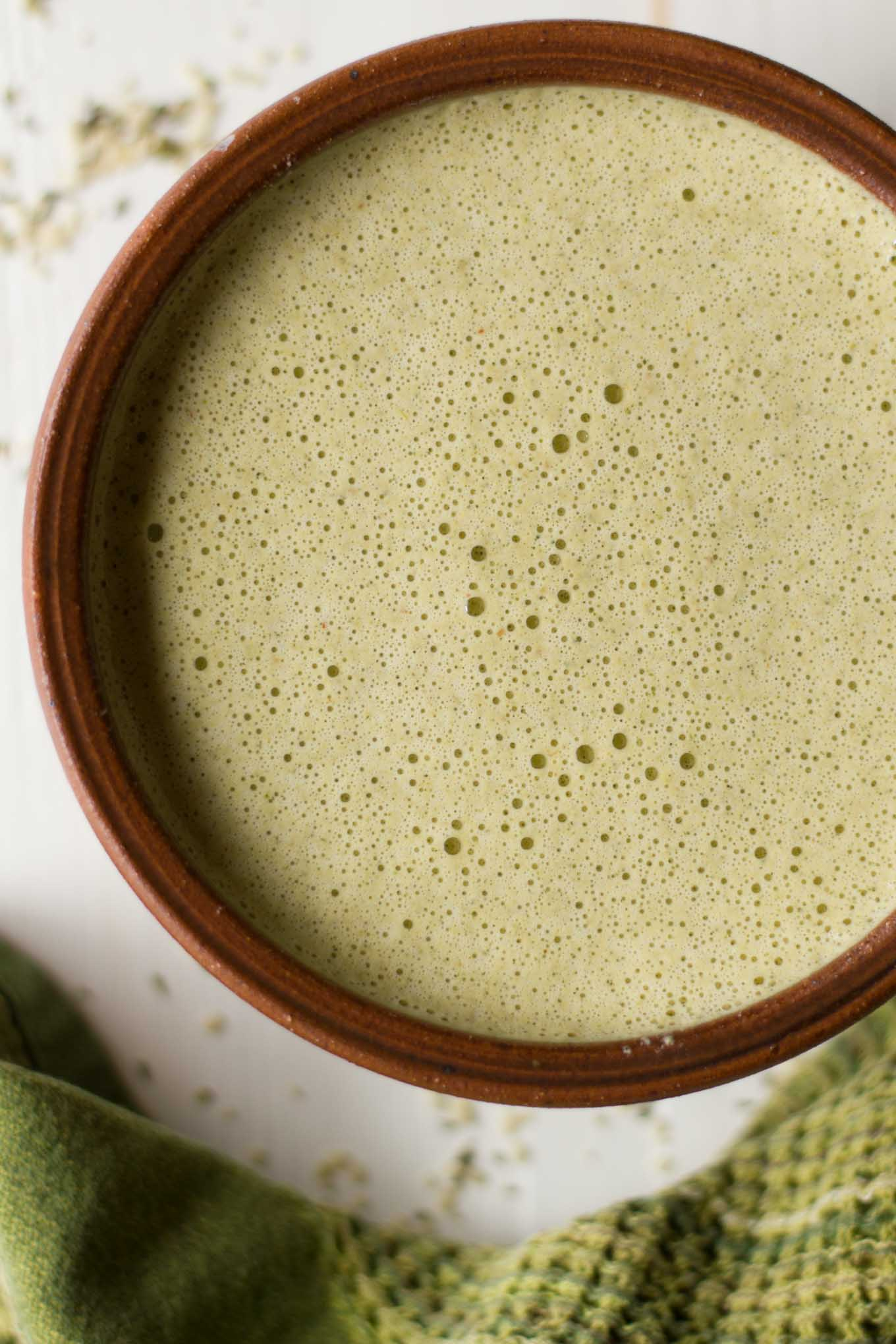 Creamy, Smoky, Spicy, & Citrusy - this Hemp Mojo is oil-free and the perfect marinade or salad dressing for your next Mexican feast! | http://eatwithinyourmeans.com