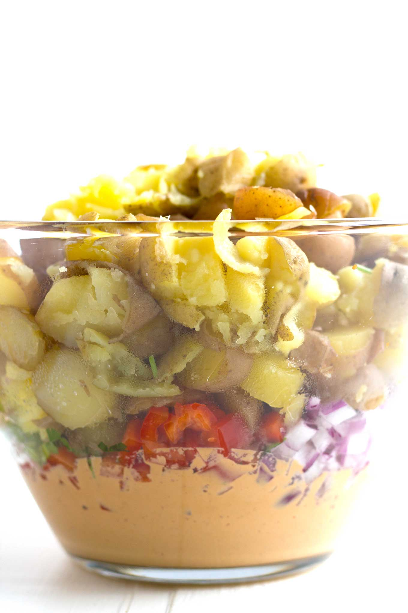 Vegan Southwestern Potato Salad | Oil-Free, Gluten-Free | https://passtheplants.com
