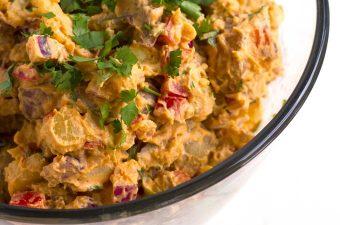 Vegan Southwestern Potato Salad