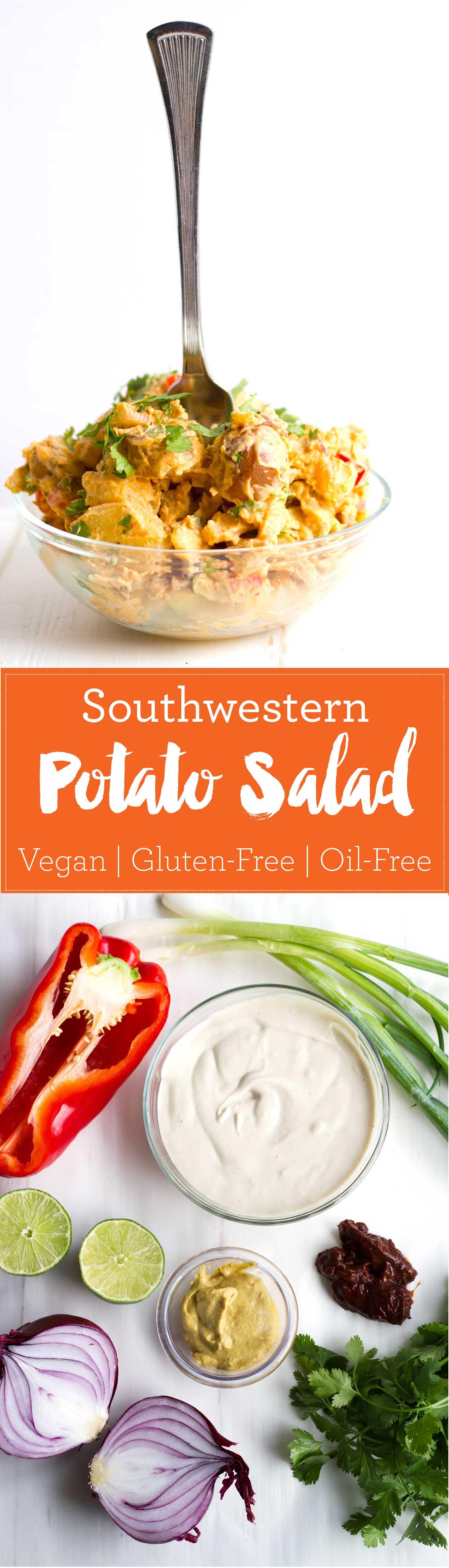Vegan Southwestern Potato Salad | Oil-Free, Gluten-Free | https://eatwithinyourmeans.com