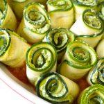 Protein-Packed Zucchini Roll-Ups (Vegan/GF)