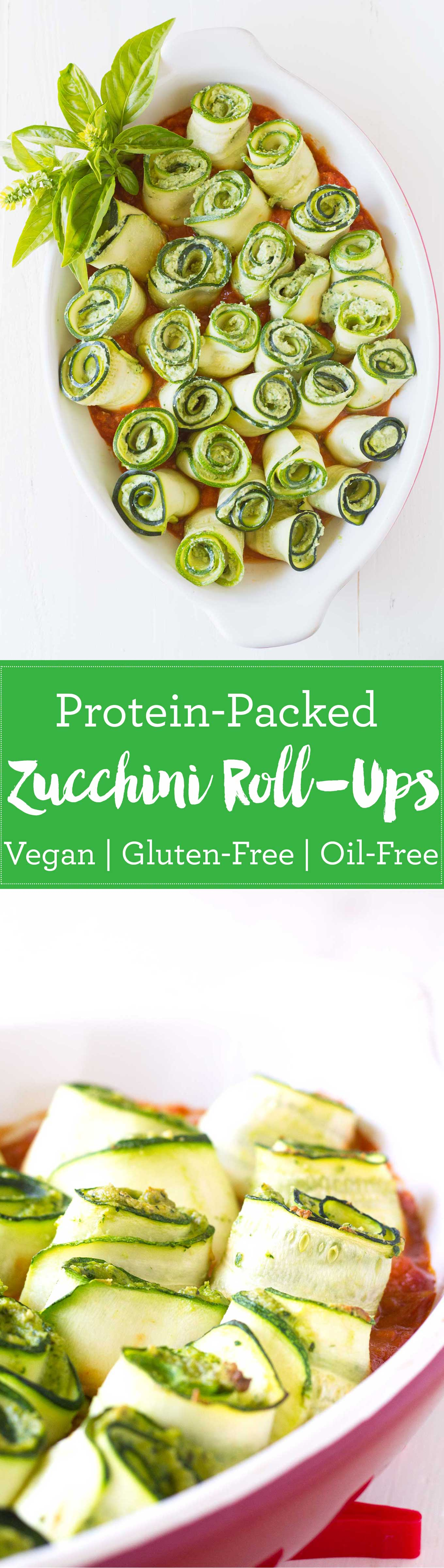 Protein-Packed Zucchini Roll-Ups | Vegan, Gluten-free | https://eatwithinyourmeans.com