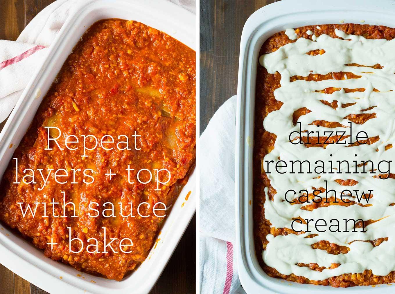 Best Damn Vegan Lasagna | Oil-Free | http://eatwithinyourmeans.com