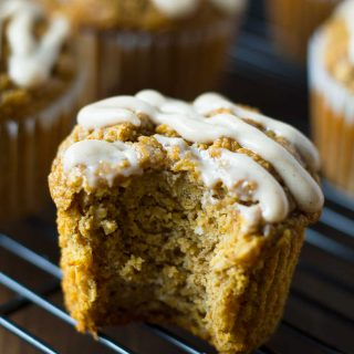 Vegan Pumpkin Blender Muffins