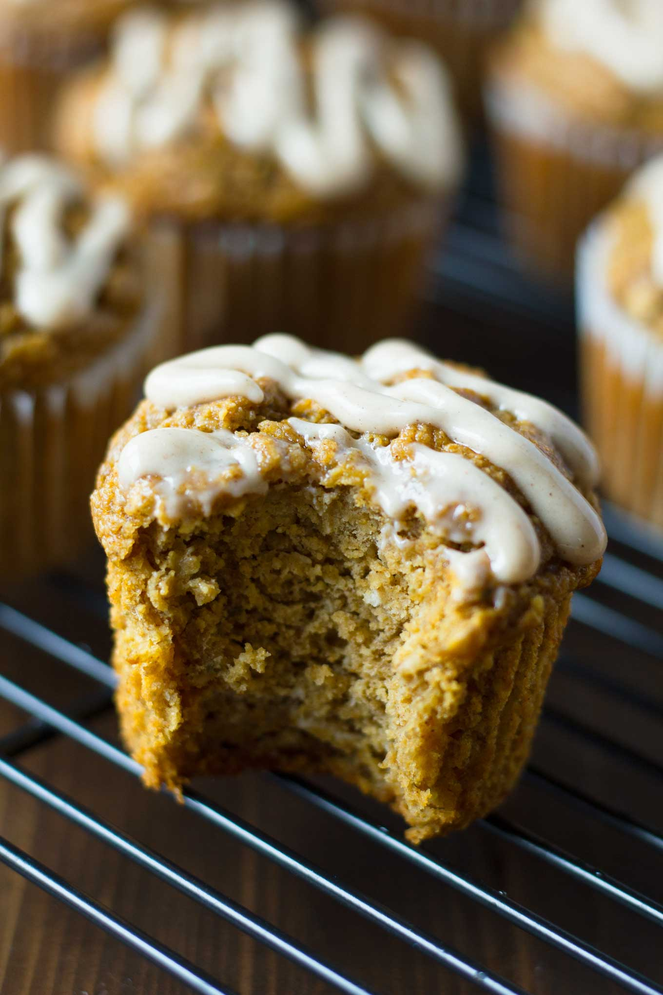 Vegan Pumpkin Blender Muffins | Vegan Pumpkin Blender Muffins are a healthy treat for fall! Gluten-free, and oil-free, yet moist and delicious! | http://eatwithinyourmeans.com
