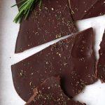 Rosemary Chocolate Bark