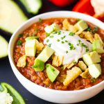 Pressure Cooker Vegan Chili