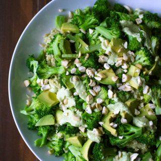 Triple Broccoli Quinoa