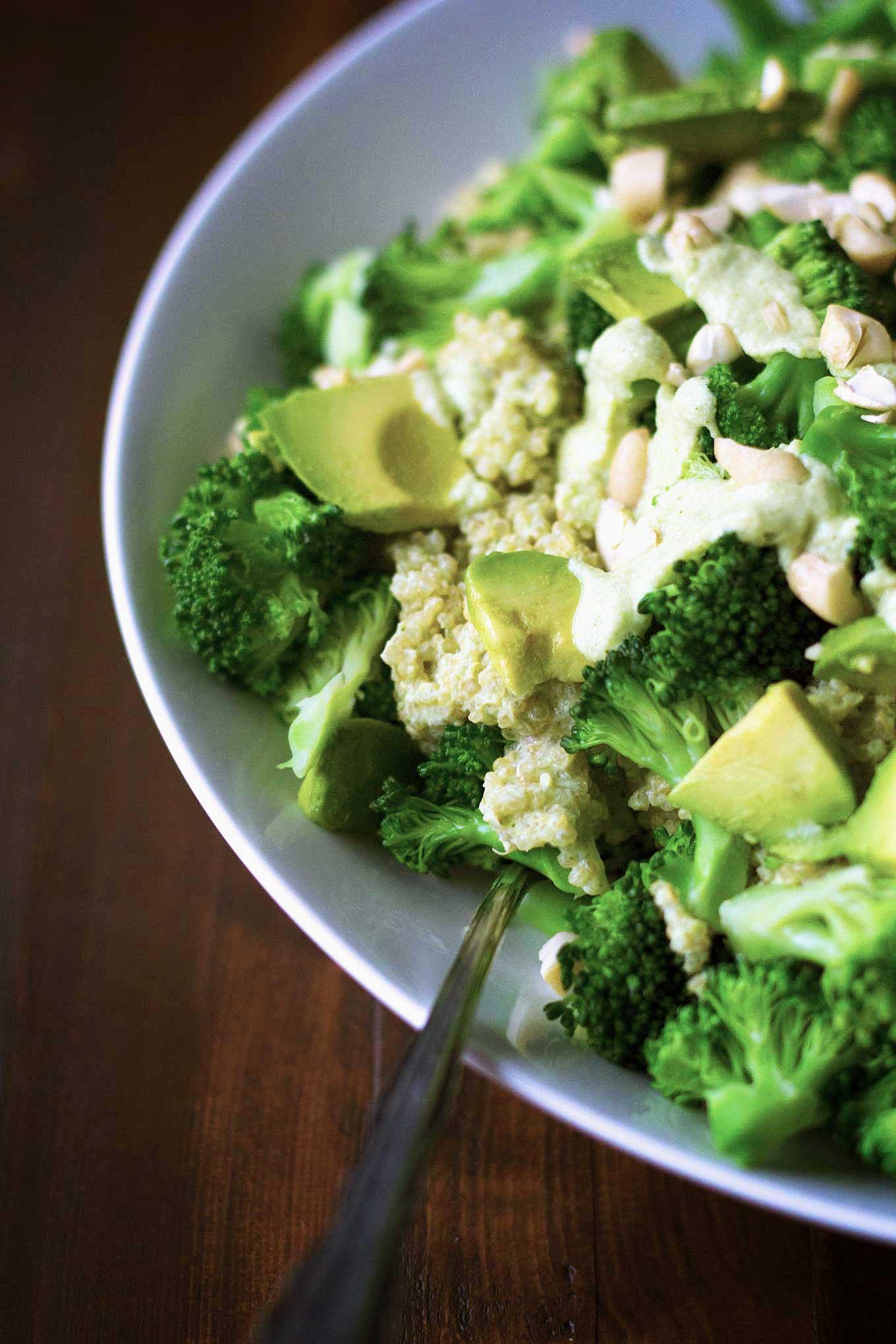 recipe: vegan quinoa broccoli [31]