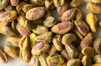 Pistachio Cardamom Blender Muffins