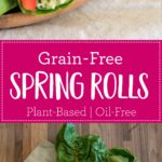 Grain-Free Spring Rolls