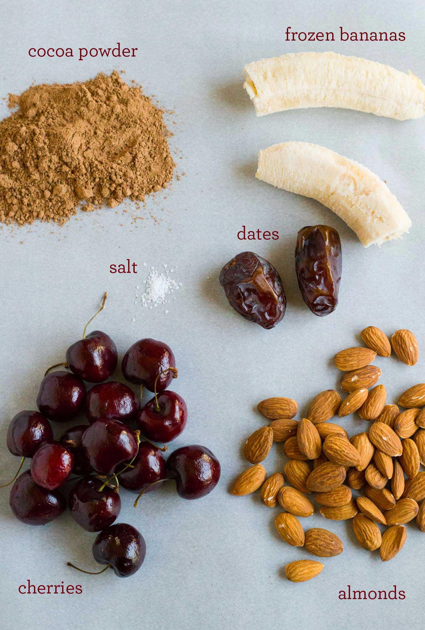 Chocolate Cherry Almond Smoothie   https://eatwithinyourmeans.com   Vegan